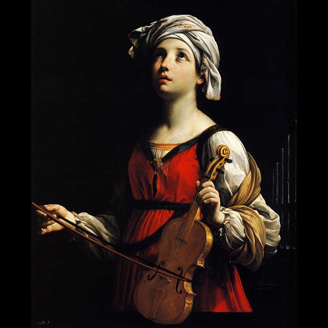 Oración y vida de Santa Cecilia