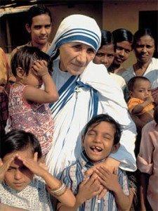 imágenes de la Santa Madre Teresa de Calcuta