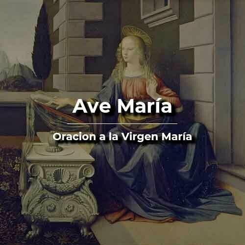 Ave María Oración católica