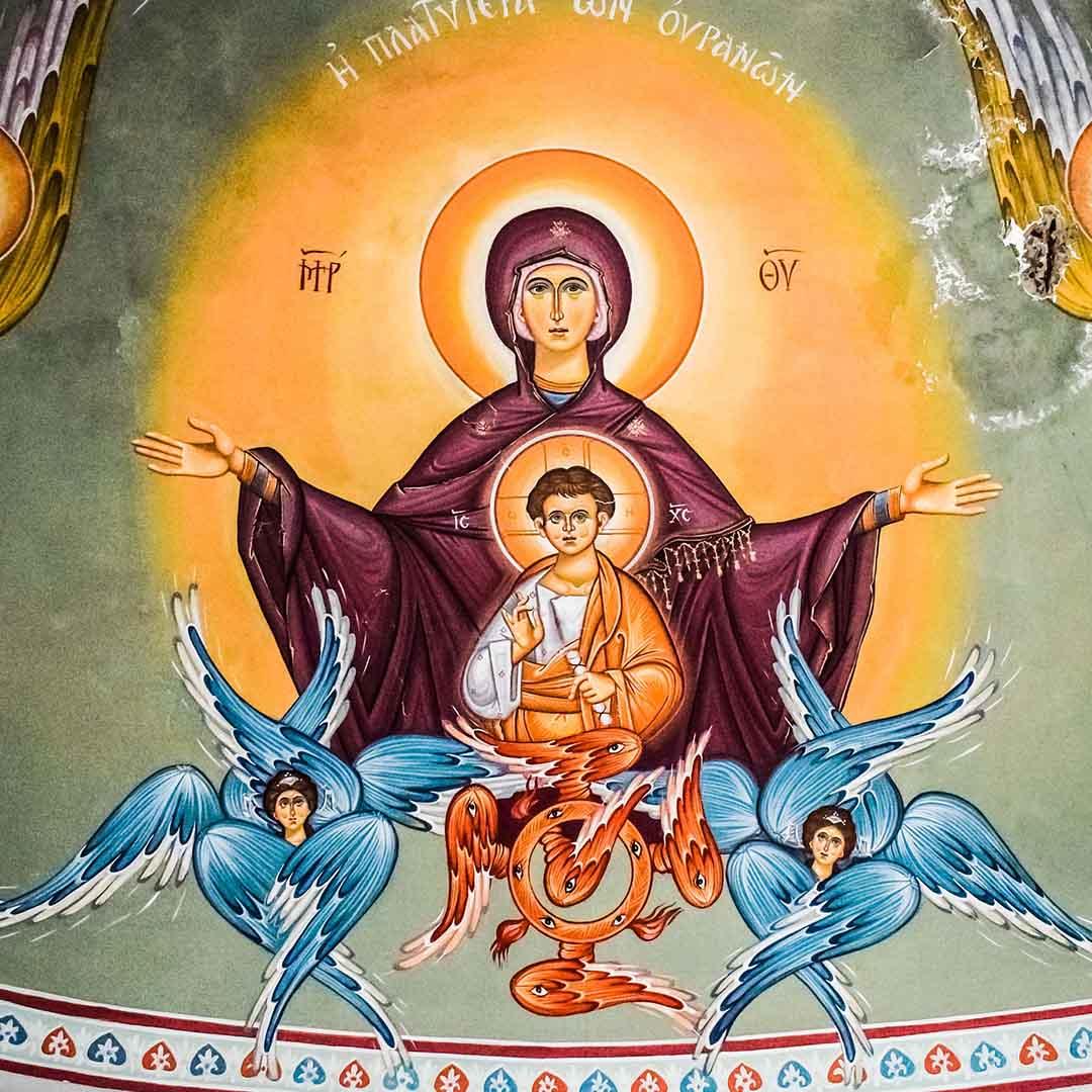 Oración católica Ave María