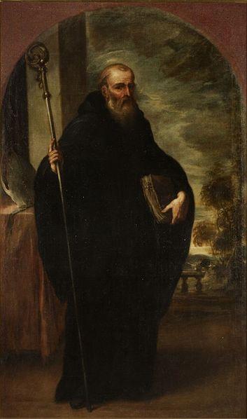 Retrato de San Benito