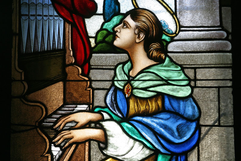 Santa Cecilia, Patrona de los músicos: Biografía de Santos