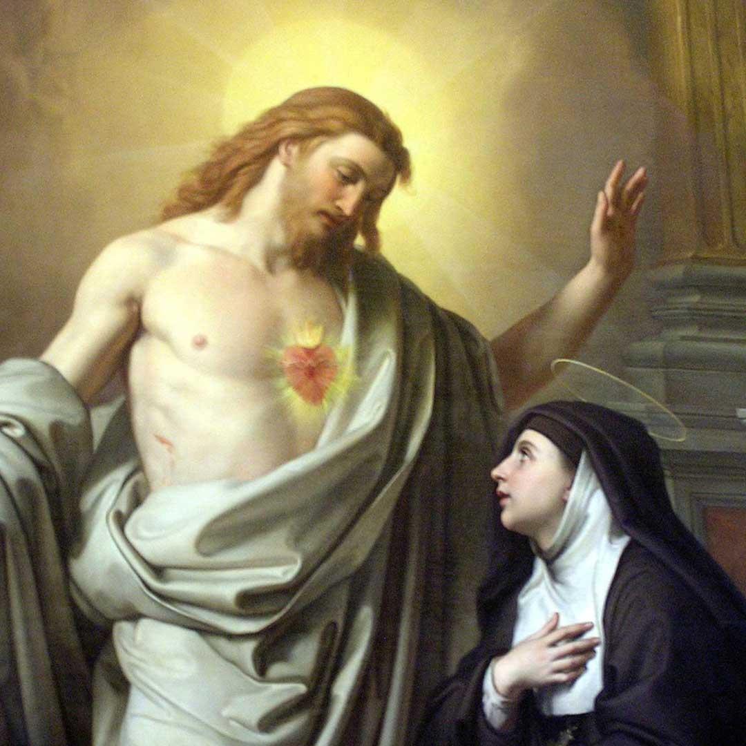 Promesa de Salvación del Sagrado Corazón