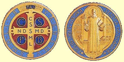 Significado de la medalla de San Benito