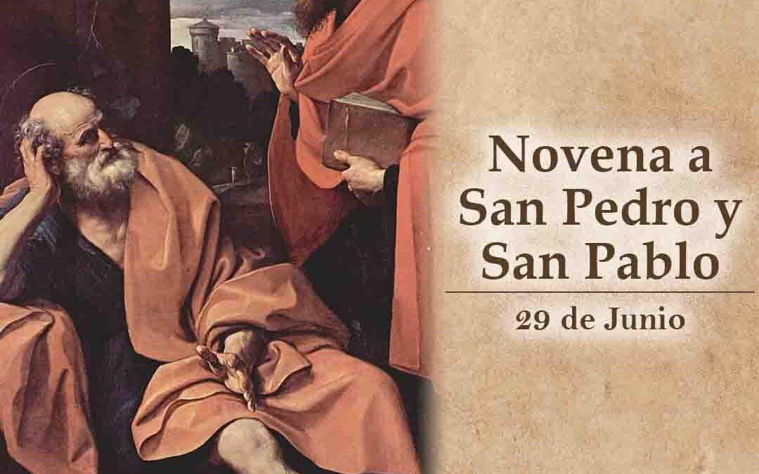 Novena a San Pedro y Pablo, apóstoles