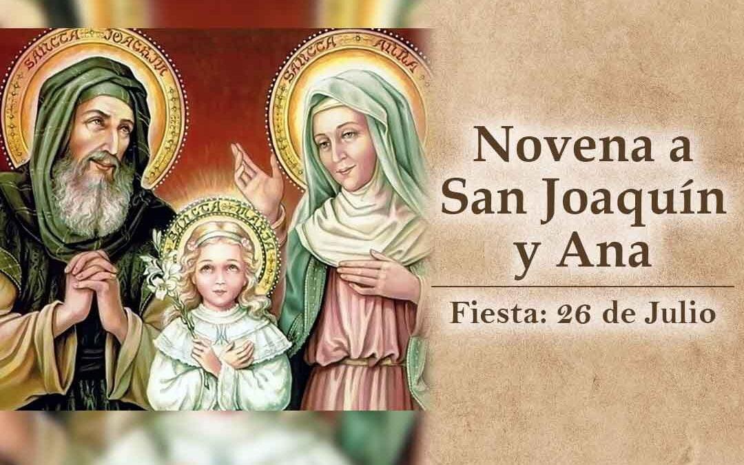 Novena a San Joaquín y Ana, patronos de los abuelos