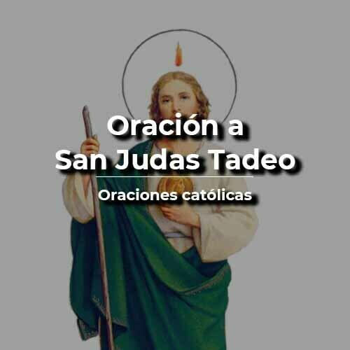 Oración a San Judas Tadeo milagrosa
