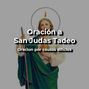 Oración por causas difíciles a San Judas Tadeo
